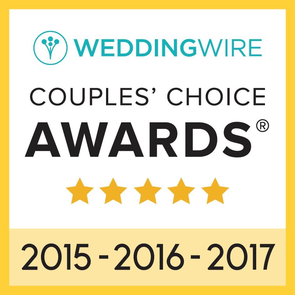 Wedding Wire Couples Choice 2015-2017