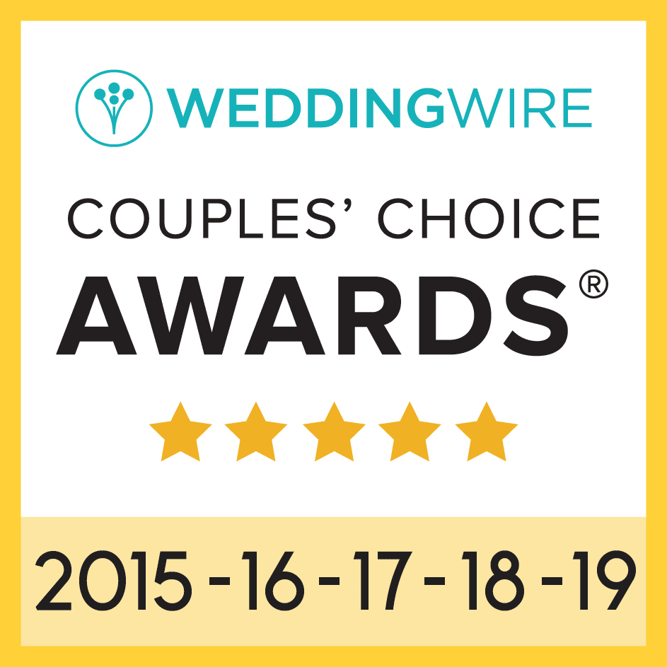 Wedding Wire Couples Choice 2015-2018